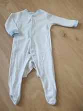 Modrobílé dětské pyžamo značky f&f, vel.56, f&f,56