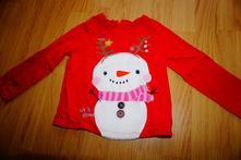 Zimní vánoční tričko next, next,92
