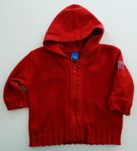 Bavlněný svetr  na zip, adams,74