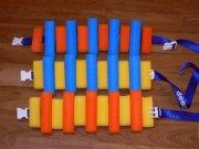 Plavecký pás (ježek) 11 dílků,