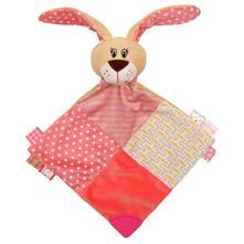 Usínáček králíček baby mix růžový,