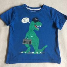 Bavlněné tričko s dinem zn. primark, primark,98