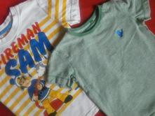2x triko s krátkým rukávem 92-98, next,92