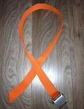 Oranžový pásek his,
