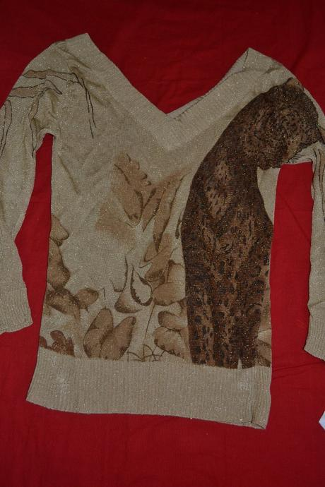 Tenký svetr-halenka vel.164/s, 164