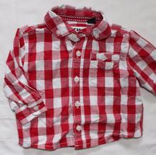 Au76. košile chlapecká 3-6 měs., next,68