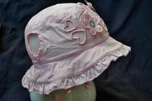 Letní klobouček na zavazování,i pro nejmenší, 68 - 104