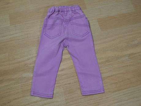 Kalhoty džíny fialové , next,80