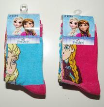 3pack ponožky frozen, disney,92 - 146