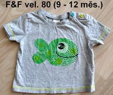 Triko s rybičkou zn. f&f, f&f,80