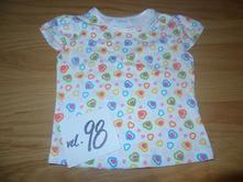 Disney triko se srdíčky, disney,98