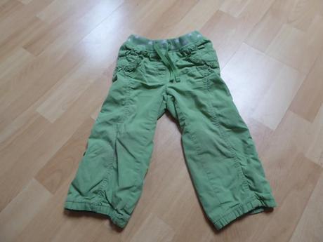 Oteplené kalhoty, next,92