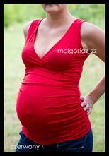 Těhotenský top - více barev, l / m / s
