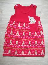 Vánoční pletené šaty, f&f,92