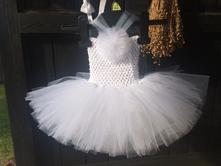 Tutu šaty bíle, 50 - 140
