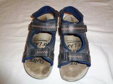 Super černé kožené sandále, pepperts,36