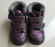 Dětské kotníkové boty s kožešinkou vel.24, baťa,24