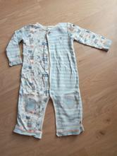 Modré dětské pyžamo/overal zn. f&f, vel. 80, f&f,80