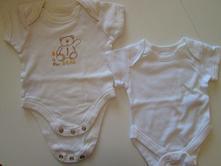 2x body novorozenecké, marks & spencer,56