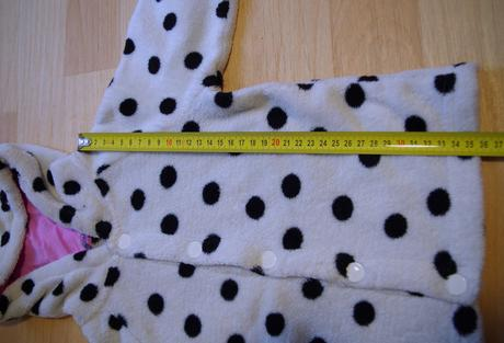 Mikina kravička teplá sametová, lindex,86