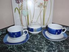Čajová-kávová souprava na čaj i kávu,