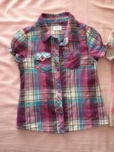 2 parádní košile s krátkým rukávem, f&f,86