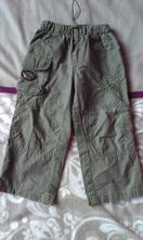 Kalhoty příjemné plátěné, 86