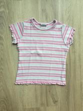 Bavlněné pruhované triko/tričko, next,98