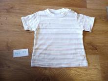 Tričko s proužky, kik,74
