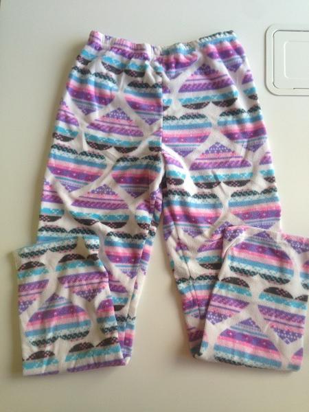 Pyžamové kalhoty flísové, primark,152