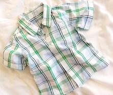 Bavlněná košile s krátkým rukávem, 80