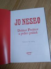 Kniha doktor proktor a prdící prášek,