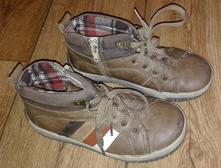 Podzimní hnědé kotníkové boty, f&f,30