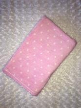 Růžová chlupatková deka little dreamerz,