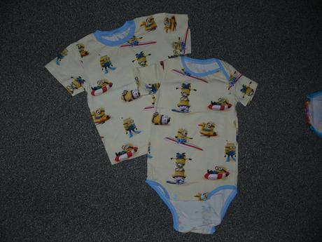 Sourozenecké tričko a bodýčko, vel. 86 a 98/104, 86