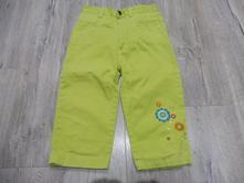 Zelené 3/4 kalhoty., 116