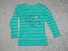 Tričko s dl. rukávem zelinkavé, kugo,116