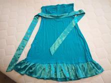 Tyrkysové letní šaty, justtop, vel. 36-40, m