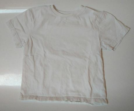 S60 - bílé tričko krátký rukáv, f&f,104
