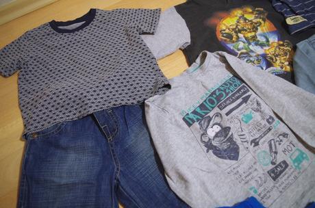 Mix oblečení na kluka 98-104 (2-4r) ,