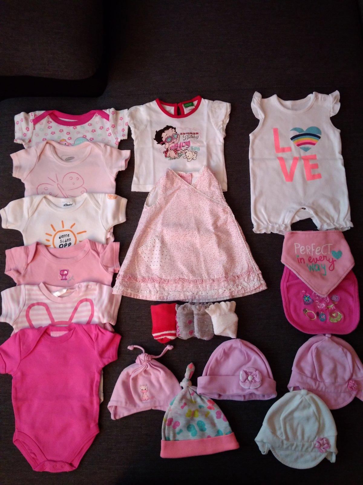 Balík oblečení - holčička 0-3 měsíce 567c8bcba4
