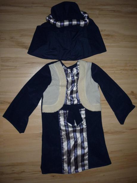 Kostým beduín / prorok modrý.,