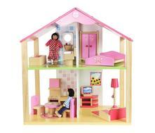 Dřevěný domeček pro panenky,