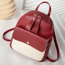 Dámsky batoh model č.3 červený - skladem, dr-20,