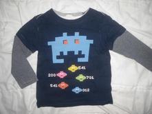 Tričko s robotem, h&m,92