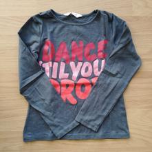 Tricko dance, h&m,128