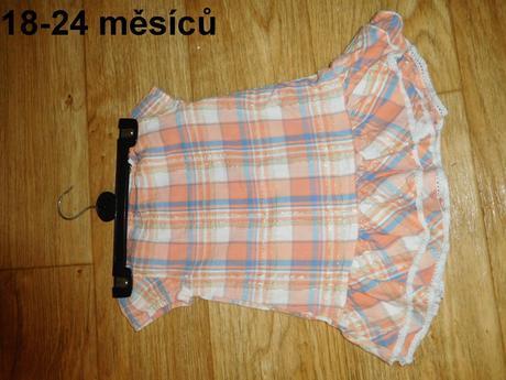 Šaty či tunika 18-24 měsíců, 92