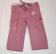 D160dívčí zateplené plátěné kalhoty vel. 86, dopodopo,86