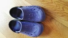 Gumové boty alá crocsy neznačkové, 32