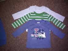 Set 3 triček - nenošené, f&f,68